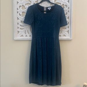 Lularoe Blue Amelia Dress